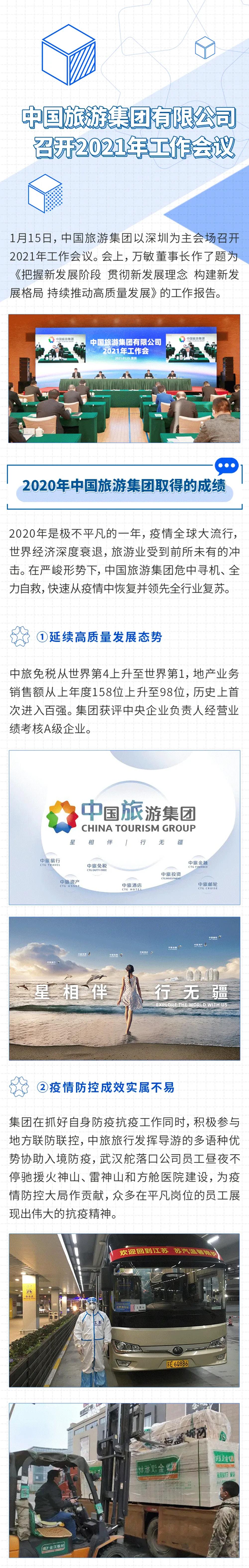 中国旅游集团召开2021年工作会议